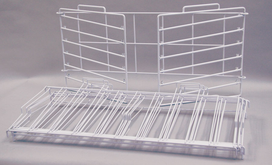 White 12 Quot X 12 Quot K D Stackable Rack 73 065 Scrapbook