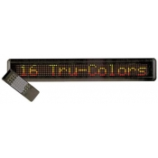 Multi-Color Moving Message Display