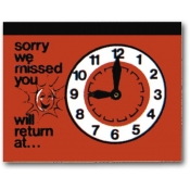 Return Clock (Red)
