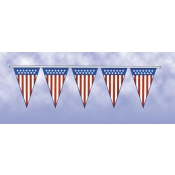 Patriotic Pennants (60'Long)