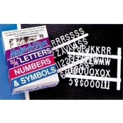 "3/4"" Extra Letters (Sign Board)144Pcs"