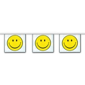 2-Sided Mini Banner Strings (Smiley/Smiley)