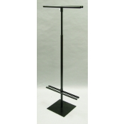 Black - Double Vertical Banner Stands