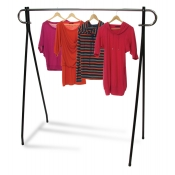 "60"" Single Rail Clothing Rack"