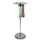 Revolving Tie and Belt Clothing Rack