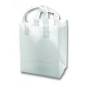Wholesale Gift Bags (Clear) Frosted Bags/Double Loop Handles