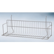 "(Gray) Slatwall-24"" Standard Shelf"