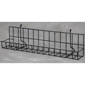 "(Black) Grid-24"" CD/DVDs Shelf"