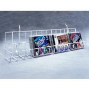 "(Black) Slatwall-24"" CD Shelf"