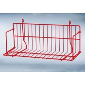 "(Red) Grid-18"" Standard Shelf"