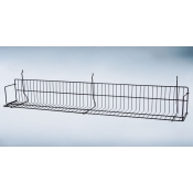 "(Black) Slatwall-48"" Standard Shelf"
