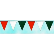 Pennants - Red/White/Green (105Ft)