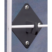 (Black) Grid Panel Wall Hook