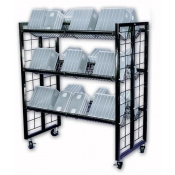(Black) Inventory Return Cart