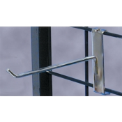 "6"" Grid Display Hook (Chrome)"
