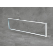 (White) Grid Mount Sign Frame W/ Hooks