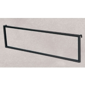 (Black) Grid Mount Sign Frame W/ Hooks