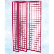 "(Red) Gridwall Panel 84"" X 48"""