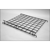 "(Black) 24"" X 24"" Straight Grid Shelf"