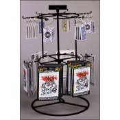 (Black) 12 Peg - 2 Tier Counter Spinner
