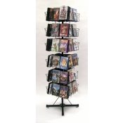 (Black) Multi-Capacity DVDs/CD Spinner