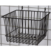 "(Black) 12"" X 12"" Square Grid Basket"