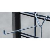 "(Chrome) 10"" Long Y-Back Grid Hook"