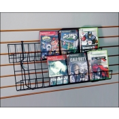 (Black) Universal-2 Tier CD/DVDs Shelf
