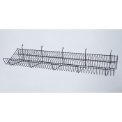 "(Black) 48"" Grid - Slanted Shelf"