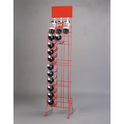 2-Liter Bottle Rack (Red)