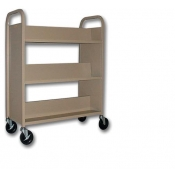 6 Shelf / 2-Sided Mobile Cart