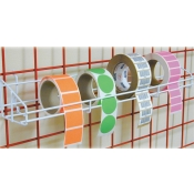 "(White) 24"" Sticker-On-Roll Shelf"