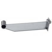 "12"" Slatwall Bracket For 1"" Round Hangrail"