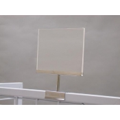 "Acrylic 7""W X 5""H Grid Mount Sign Frame"