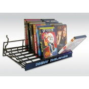 "(Black) 18"" Universal Flip'N Browse Shelf"