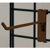 "(Ant. Bronze) 4"" Grid Hook / 3"" O.C. Gridwall"