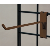 "(Ant. Bronze) 6"" Grid Hook / 3"" O.C. Gridwall"