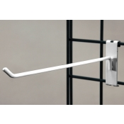 "(White) 12"" Grid Hook / 3"" O.C. Gridwall"