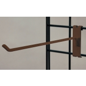 "(Ant. Bronze) 12"" Grid Hook / 3"" O.C. Gridwall"