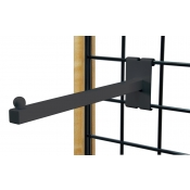 "(Black) 12"" Square Fadeout / 3"" O.C. Gridwall"