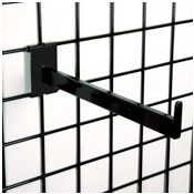 "(Black) 12"" Rect. Fadeout / 3"" O.C. Gridwall"