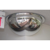 "18"" 270 Degree Corner Mirrored Dome"