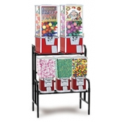 Vending Machine Combo Rack (5 Unit) Candy/Gum/Toy Vending Machine Set