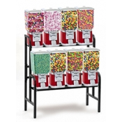Vending Machine Combo Rack (8 Unit) Candy/Gum Vending Machine Set
