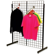 "(Black) 48"" Promo Display - No Shelves"