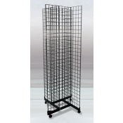 (Black) 4-Way Grid Tower