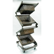 Zig Zag Basket Merchandiser ( Small Basket )