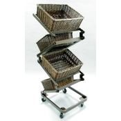 Zig Zag Basket Merchandiser ( Large Basket )