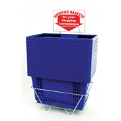 Shopping Baskets | Blue