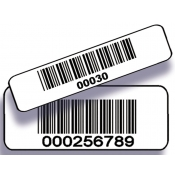 "3/4"" Wide Bar Code Label (For Movie Box)"